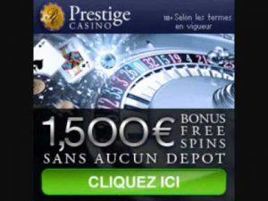 Bonus Prestige Casino