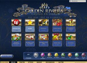 jeux Golden Riviera